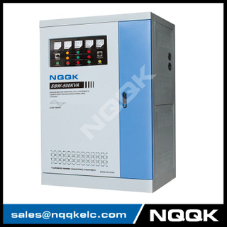 SBW 500KVA / 600KVA Full-Automatic Compensated 3Phase Series voltage stabilizer regulator