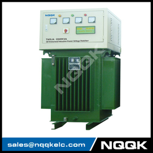 TNSJA 1600KVA to 2000KVA Oil Immersed Induction Stabilizer 3Phases Series voltage stabilizer regulator