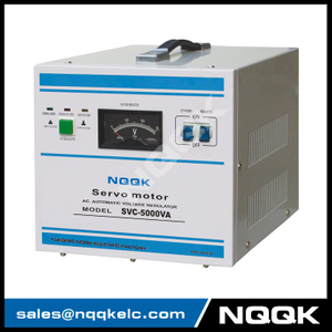 SVC 5KVA Servo Type 1Phase Series Voltage Regulator Voltage Stabilizer