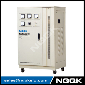 TNS 80KVA / 100KVA Servo Type 3Phase Series Voltage Regulator Voltage Stabilizer