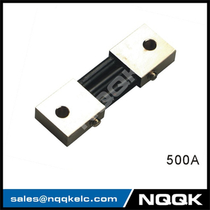 500A India type Voltmeter Ammeter DC current Manganin shunt resistor