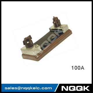 100A Russia type Voltmeter Ammeter DC current Manganin shunt resistor