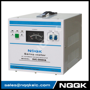 SVC 2KVA Servo Type 1Phase Series Voltage Regulator Voltage Stabilizer