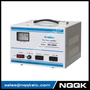 SVC 1KVA / 1.5KVA Servo Type 1Phase Series Voltage Regulator Voltage Stabilizer