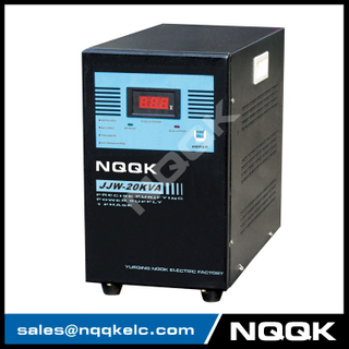 JJW 15KVA / 20KVA Precision Purified 1Phase Series Voltage Stabilizer Regulator