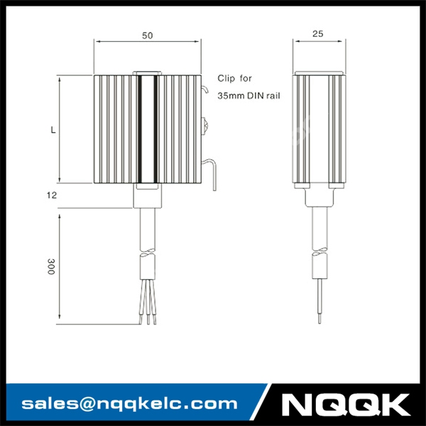 HGK 047 10W, 20W, 30W Small Semiconductor Heater