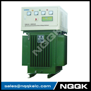TNSJA 300KVA to 600KVA Oil Immersed Induction Stabilizer 3Phases Series voltage stabilizer regulator