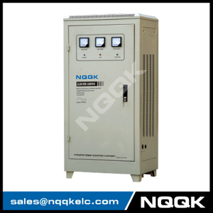 DJW-WB 80KVA / 100KVA Micro-controlled Non-contact Compensation 1Phase Series voltage regulator stabilizer