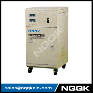 SVC 45KVA / 60KVA Servo Type 1Phase Series Voltage Stabilizer Regulator