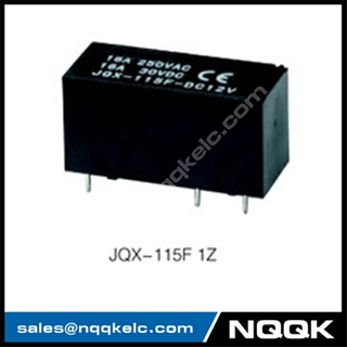 JQX-115F SPST SPDT Standard PC layout PCB Relay