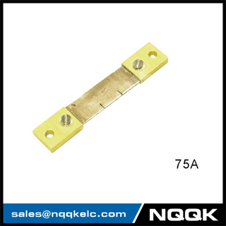 75A Russia type Voltmeter Ammeter DC current Manganin shunt resistor