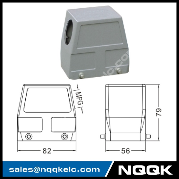 H32A Hood Housing industrial heavy duty rectangle connector