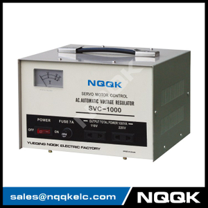 SVC 1KVA / 1.5KVA Servo Type 1Phase Series Voltage Stabilizer Regulator