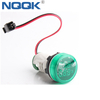 22mm 100A 50~500V AC White Green Red Yellow Blue Single LED Indicator Digital Voltmeter Ammeter