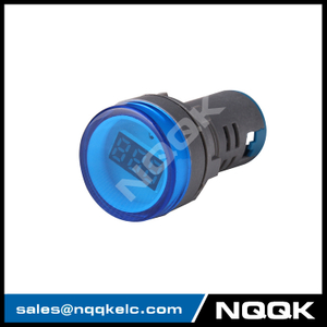 NK9995 Mini type 22 mm digital display LED Voltage indicator Indicator light lamp with AC Voltage Meter voltmeter