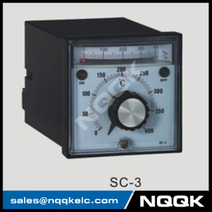 SC-3 96mm K J relay SSR Industrial pointer Rotation adjustment Temperature Controller for plastic rubber