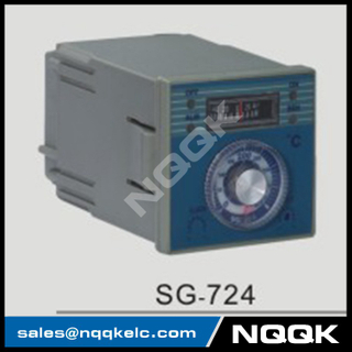 SG-724 72mm K J PT100 sensor adjustion Digital Industrial Temperature Controller for plastic rubber packing machinery