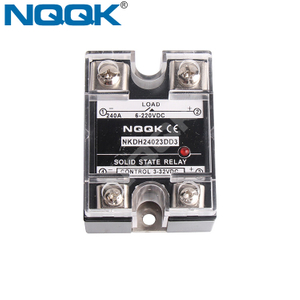 240A 500A Single Phase DC DC SSR Solid State Relay