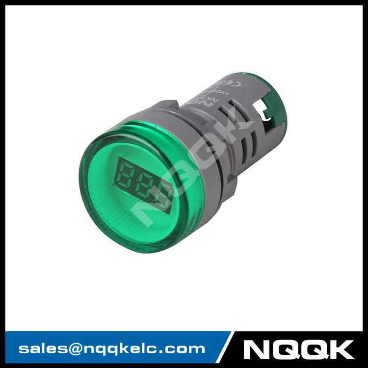 mini type 22 mm digital display led voltage indicator indicator