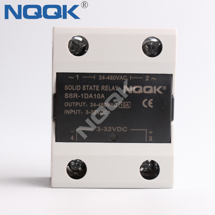 DC To AC 10A 120A Single Phase Solid State Relay