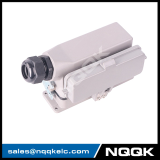 HDC-HE-024-01DB HE series 24 pin heavy duty connector harting for automation