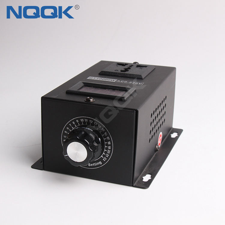 10000W SCR Module Dimming Speed Temperature Electronic Voltage Regulator with Spin Button