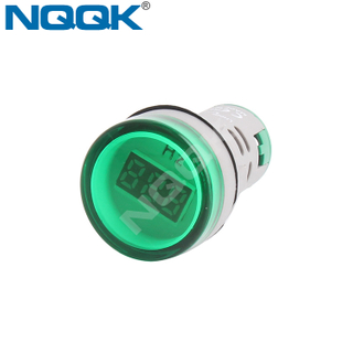 0~99Hz 22mm White Green Red Yellow Blue Indicator Frequency Meter