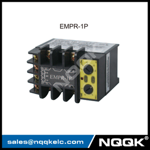 EMPR-1P 90V AC~ 260V AC over current protection LED Single Phase Relay