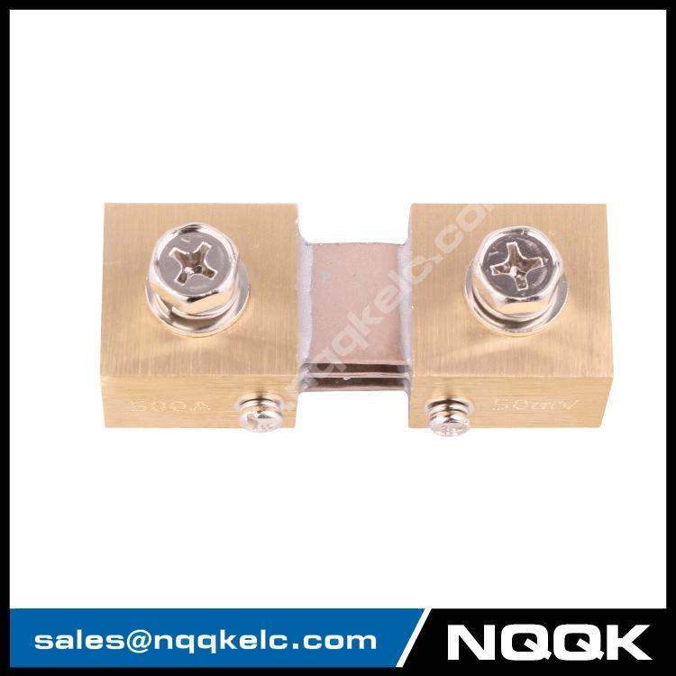 3 FL-CR nqqk nqqkelc 500A 50mV DC Electric current Shunt Resistors.JPG