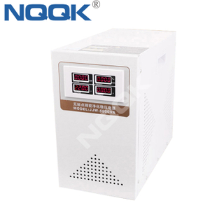 JJW 5KVA / 6KVA Precision Purified 1Phase Series Voltage Stabilizer Regulator
