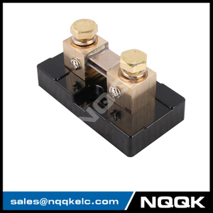 USA type 200A 50mV DC current Manganin shunt resistor with base