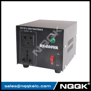 Power Voltage Converter DT-200W , Voltage Transformer , Step Up And Down Transformer
