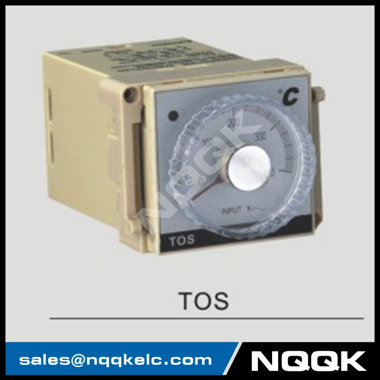 TOS 48mm K J PT100 NO OFF Industrial Temperature Controller for plastic rubber packing machinery
